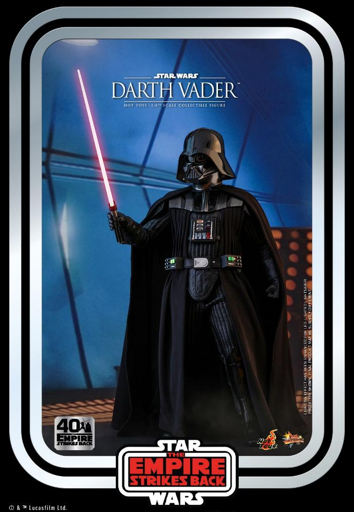 Darth Vader The Empire Strikes Back - 1/6th scale Hot Toys  1715