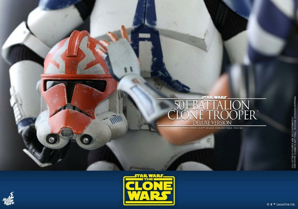501st Battalion Clone Trooper (Deluxe Version) - Hot Toys  1719