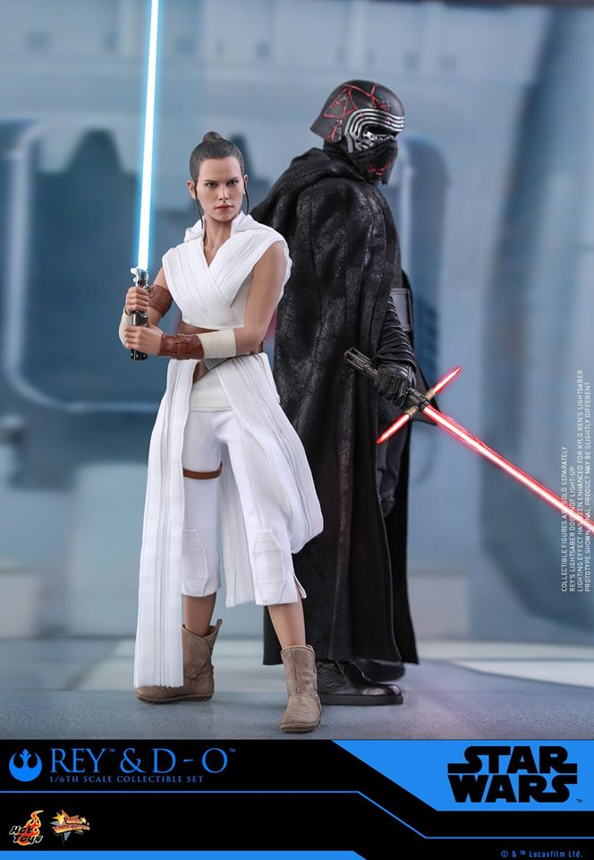 Rey & D-O Collectible Set - The Rise of Skywalker - Hot Toys 1810