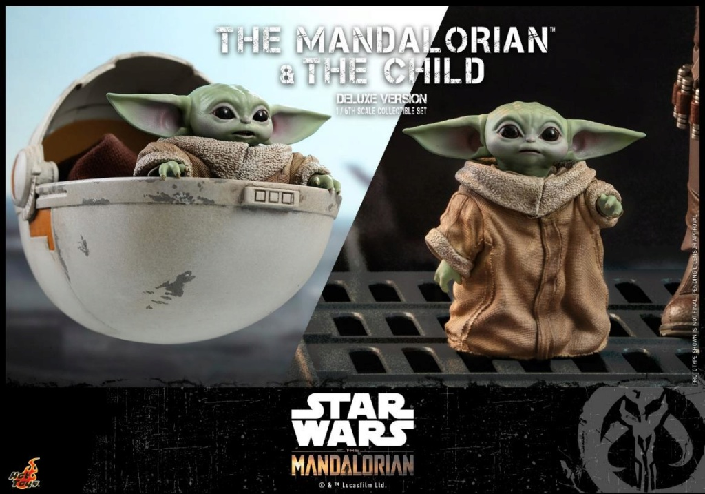 The Mandalorian & The Child Set - 1:6 - Hot Toys Star Wars 1811