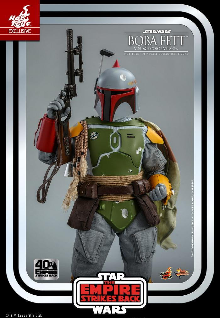 Boba Fett - 1/6th scale (Vintage Color Version) Hot Toys 1813