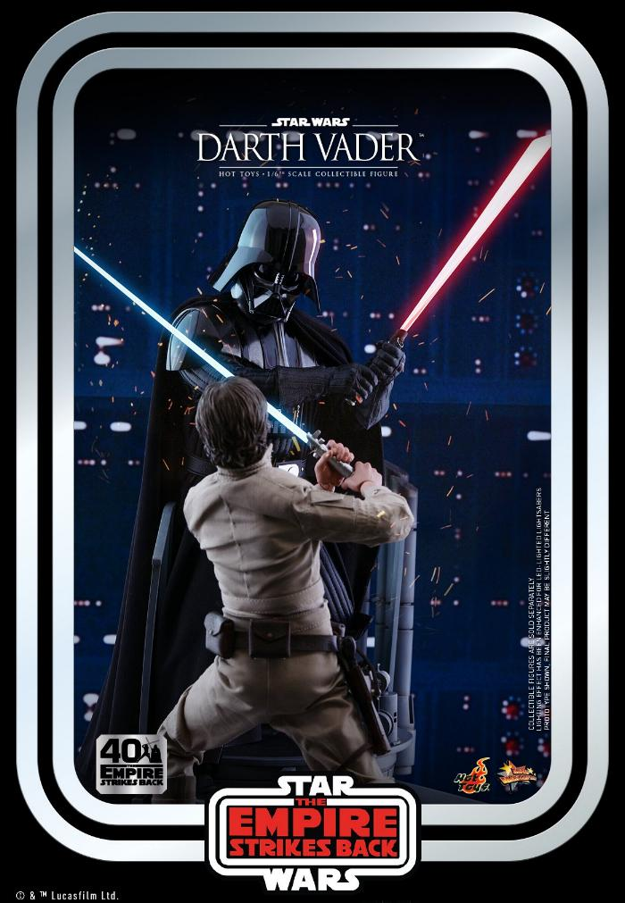 Darth Vader The Empire Strikes Back - 1/6th scale Hot Toys  1814