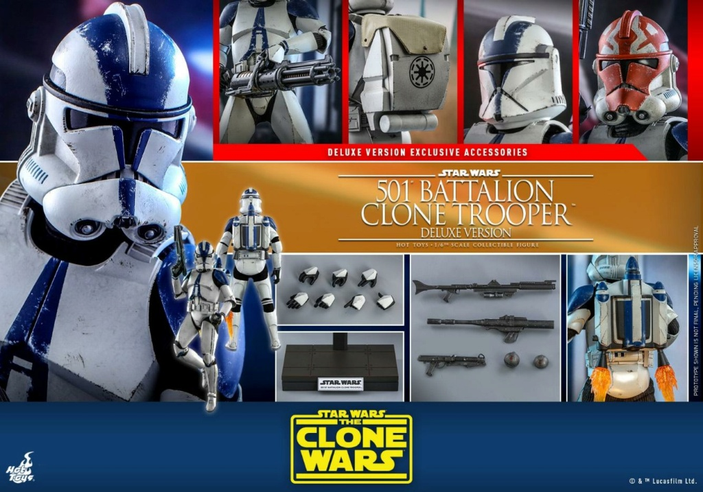 501st Battalion Clone Trooper (Deluxe Version) - Hot Toys  1817