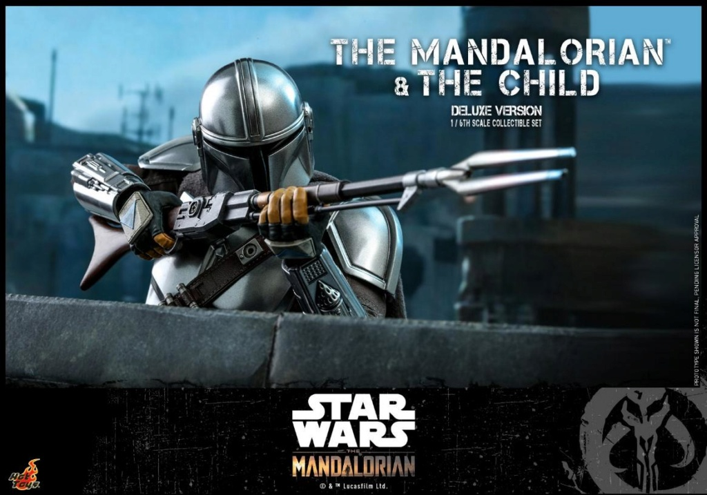 The Mandalorian & The Child Set - 1:6 - Hot Toys Star Wars 1911
