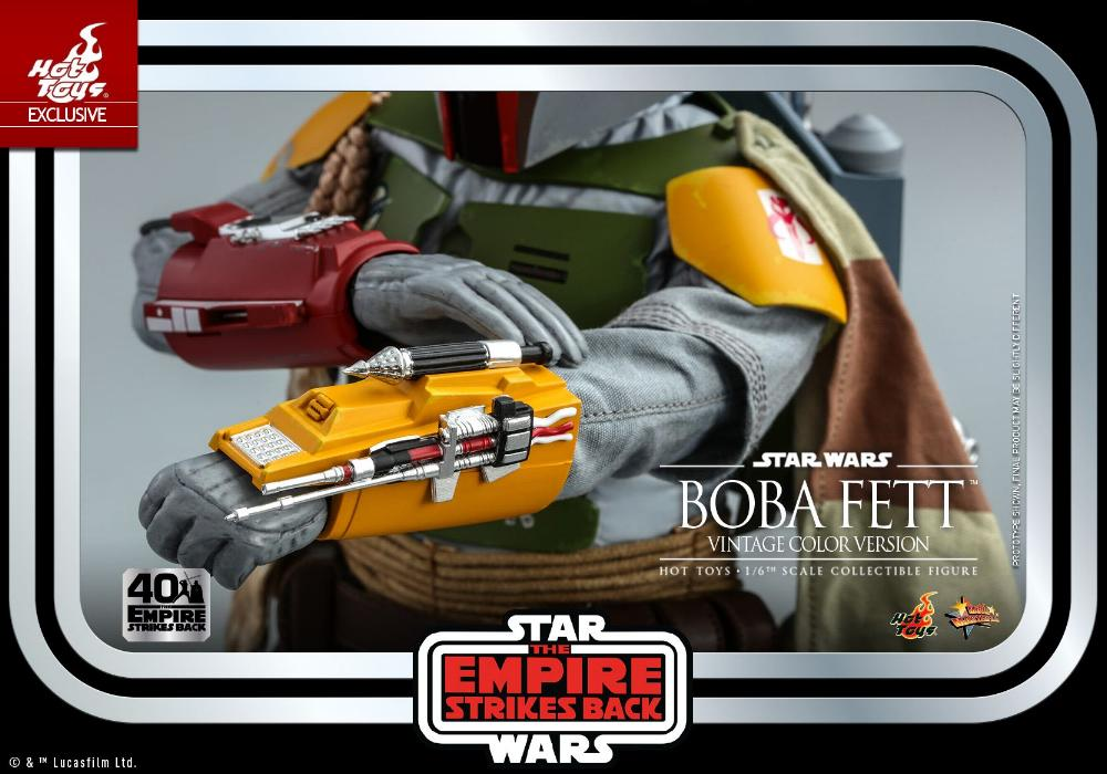 Boba Fett - 1/6th scale (Vintage Color Version) Hot Toys 1913