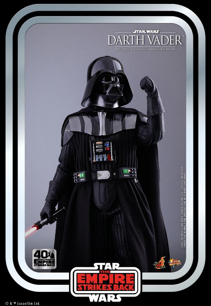 Darth Vader The Empire Strikes Back - 1/6th scale Hot Toys  1914