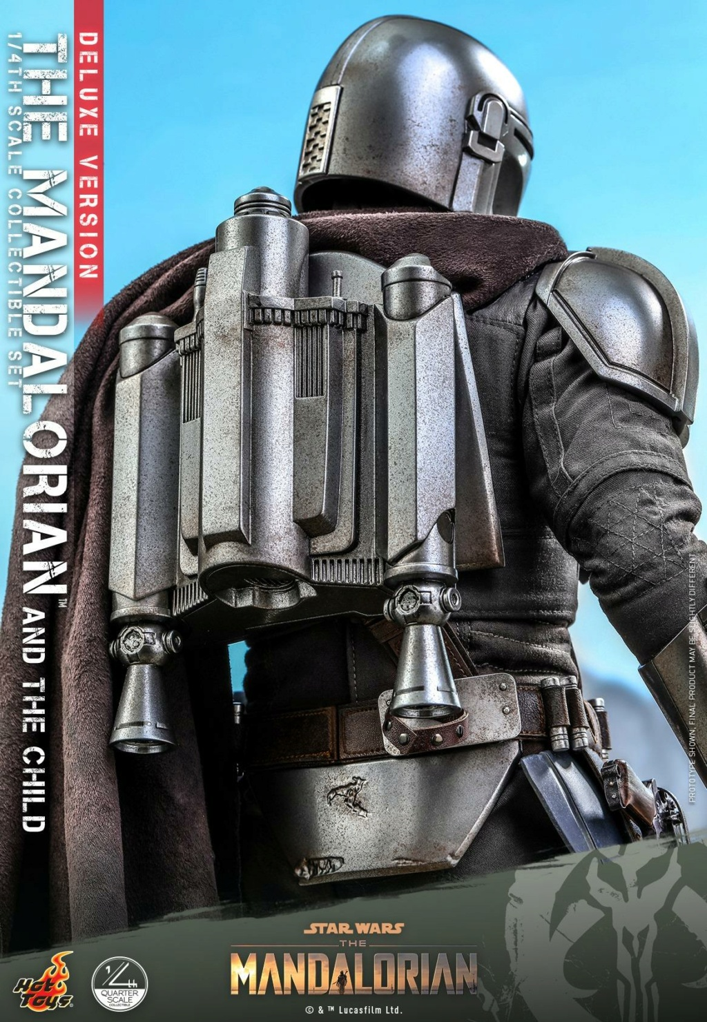 The Mandalorian & The Child Set (Deluxe) 1/4th - Hot Toys 1917
