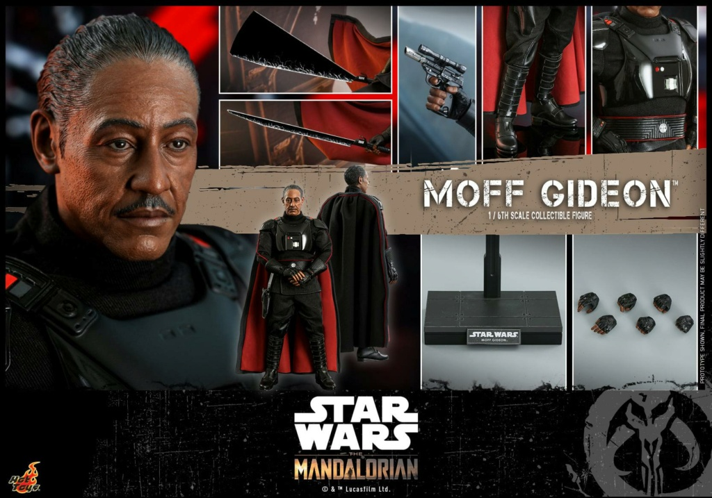Imperial Moff Gideon - 1/6 Scale Figure - Hot Toys 1918