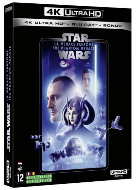 Coffret complet de la saga Star Wars en Blu-ray/4K UHD 1_4k10