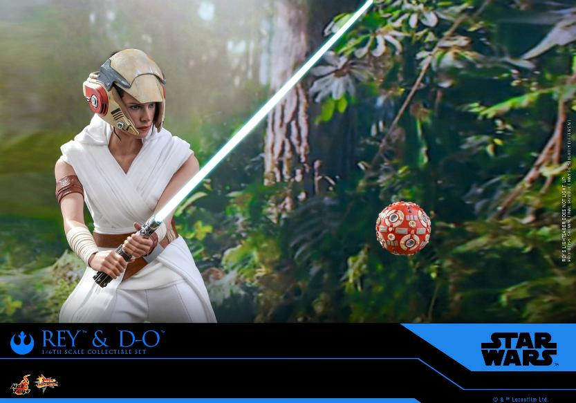 Rey & D-O Collectible Set - The Rise of Skywalker - Hot Toys 2010