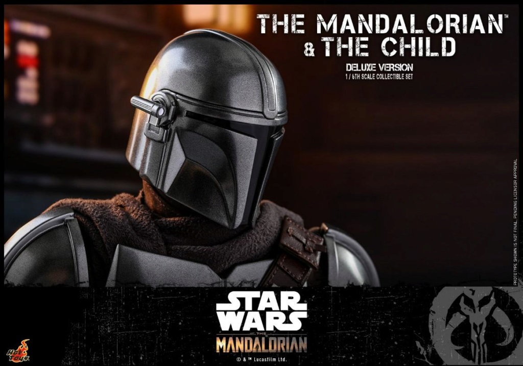 The Mandalorian & The Child Set - 1:6 - Hot Toys Star Wars 2011