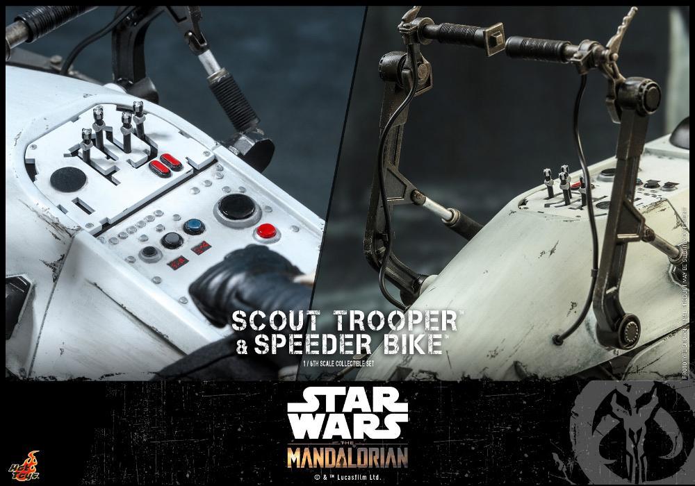 Scout Trooper & Speeder Bike Set 1/6 - Mandalorian - Hot Toy 2012