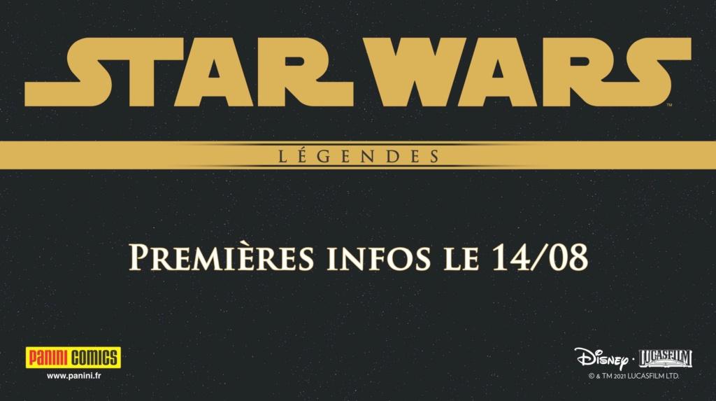 Les NOUVELLES des albums PANINI Star Wars LEGENDES 20210815