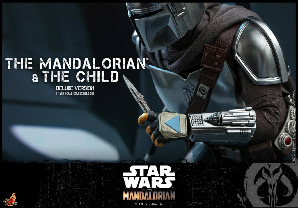 The Mandalorian & The Child Set - 1:6 - Hot Toys Star Wars 2111