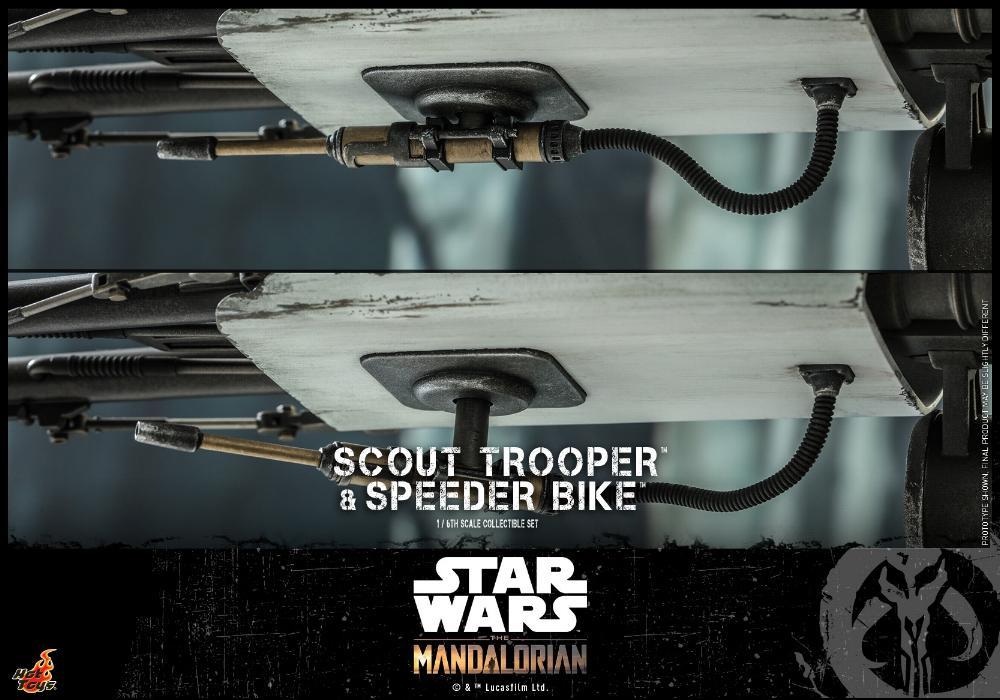 Scout Trooper & Speeder Bike Set 1/6 - Mandalorian - Hot Toy 2112