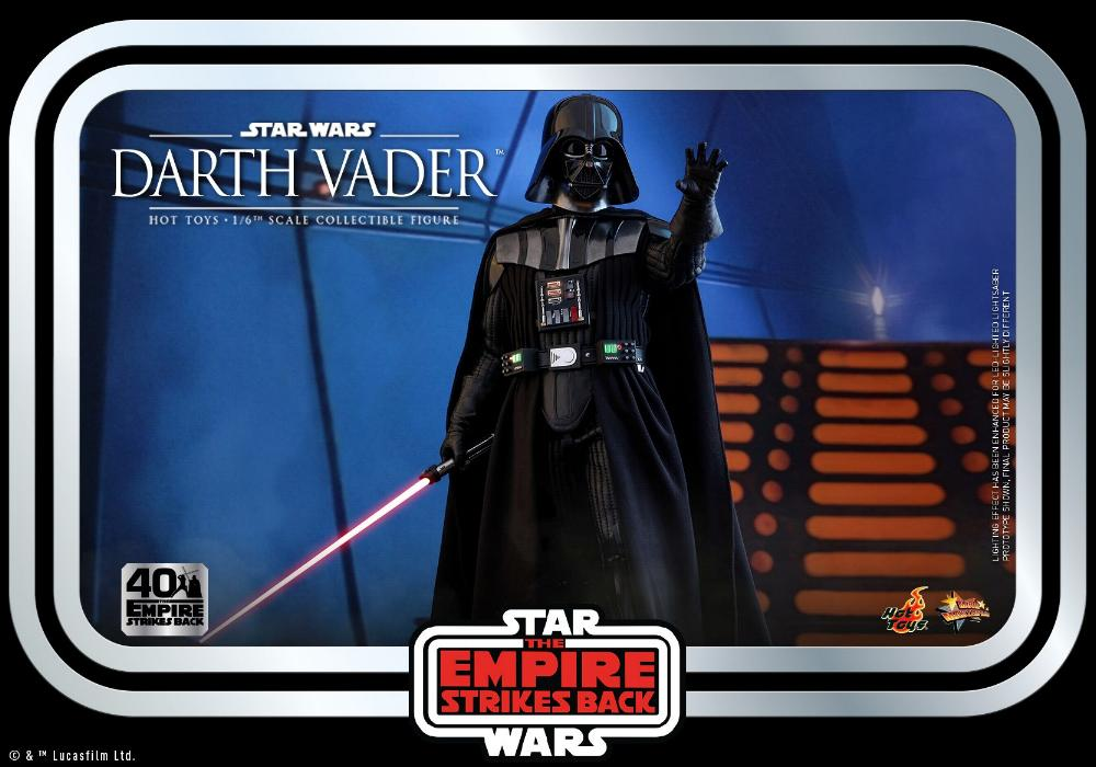 Darth Vader The Empire Strikes Back - 1/6th scale Hot Toys  2113