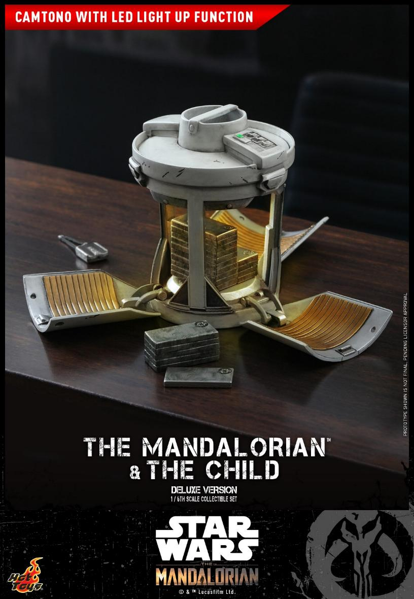 The Mandalorian & The Child Set - 1:6 - Hot Toys Star Wars 2210