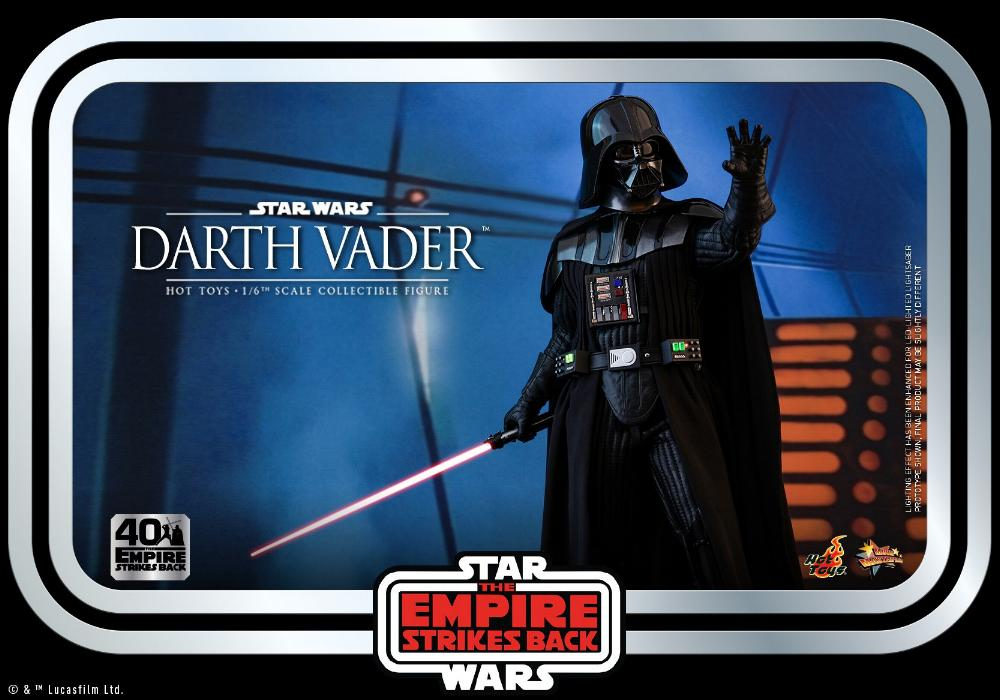 Darth Vader The Empire Strikes Back - 1/6th scale Hot Toys  2212