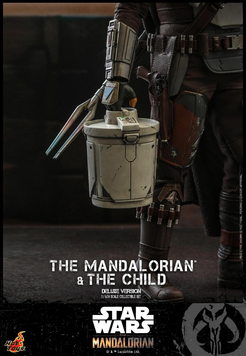 The Mandalorian & The Child Set - 1:6 - Hot Toys Star Wars 2310