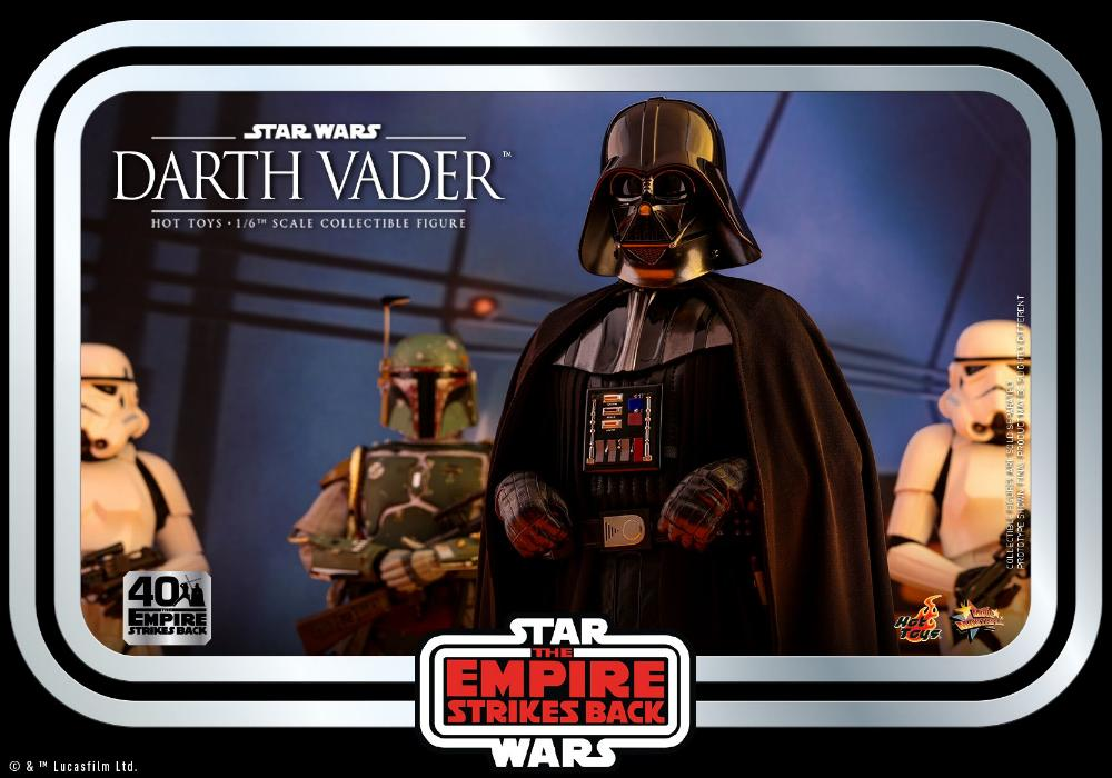 Darth Vader The Empire Strikes Back - 1/6th scale Hot Toys  2311