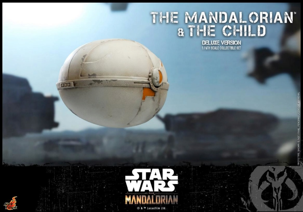 The Mandalorian & The Child Set - 1:6 - Hot Toys Star Wars 2410