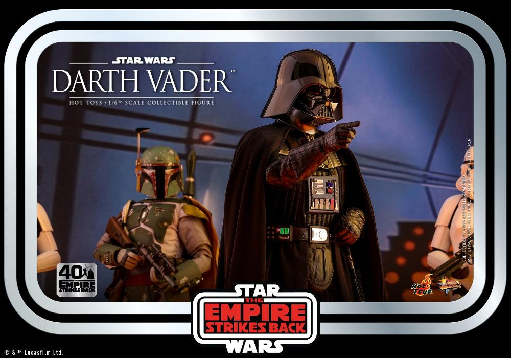 Darth Vader The Empire Strikes Back - 1/6th scale Hot Toys  2411