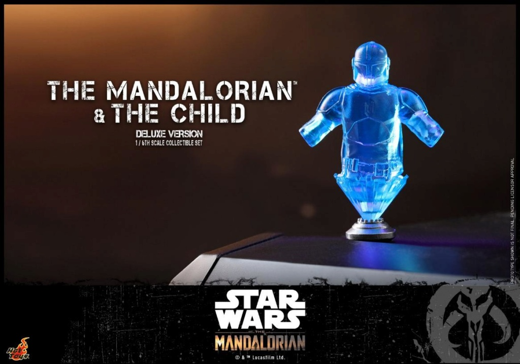 The Mandalorian & The Child Set - 1:6 - Hot Toys Star Wars 2511