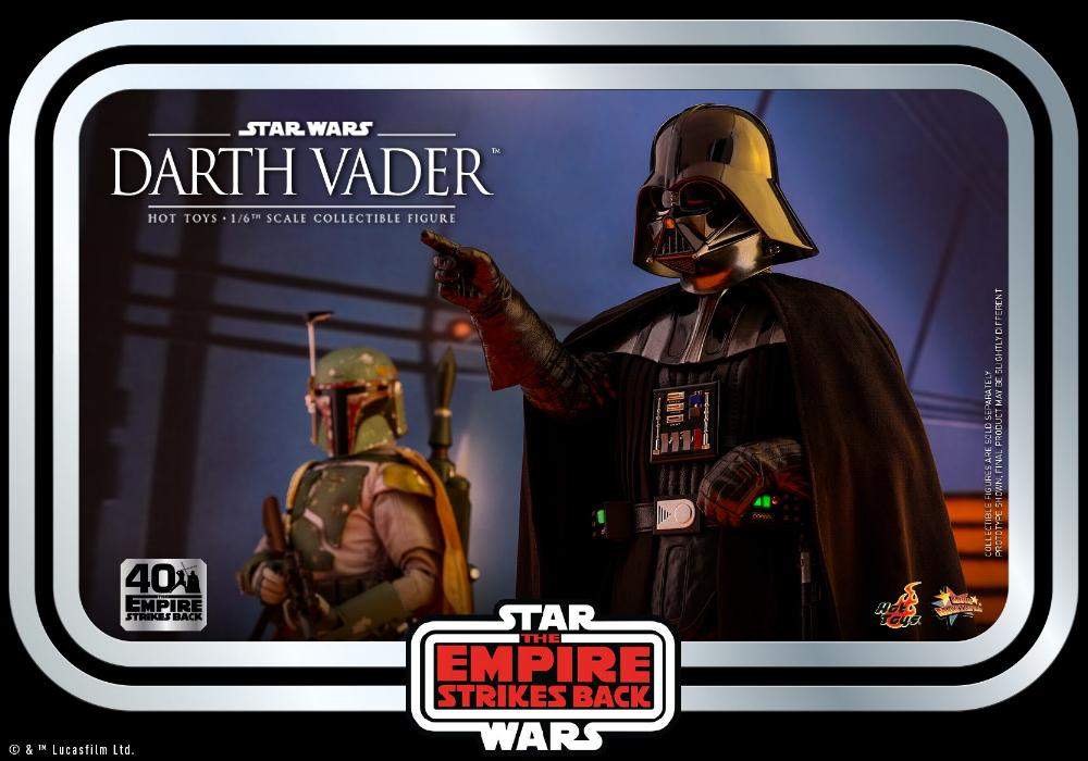 Darth Vader The Empire Strikes Back - 1/6th scale Hot Toys  2512