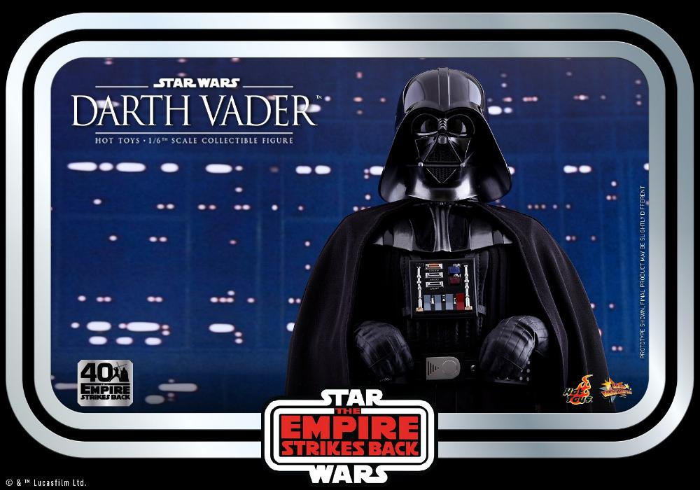 Darth Vader The Empire Strikes Back - 1/6th scale Hot Toys  2612