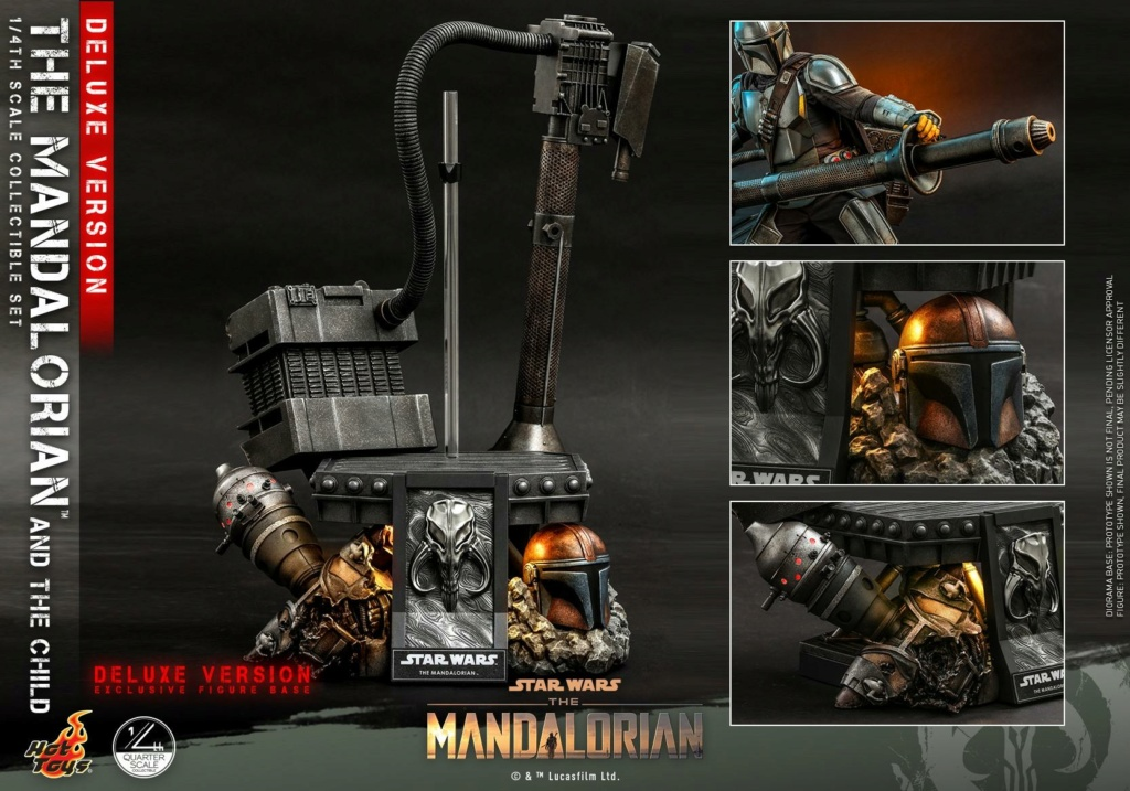 The Mandalorian & The Child Set (Deluxe) 1/4th - Hot Toys 2613
