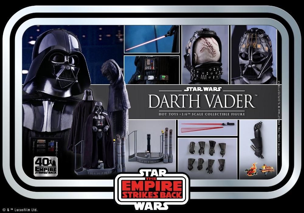Darth Vader The Empire Strikes Back - 1/6th scale Hot Toys  2711