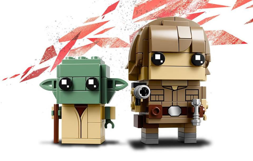 LEGO STAR WARS BUILDABLE FIGURINE -  41627 -  Yoda et Luke  41627_10