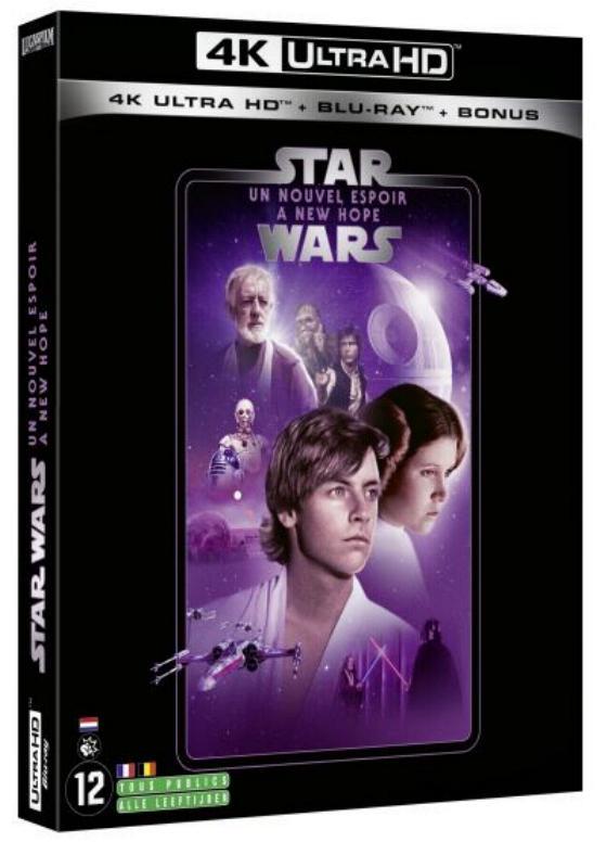 Coffret complet de la saga Star Wars en Blu-ray/4K UHD 4_4k10
