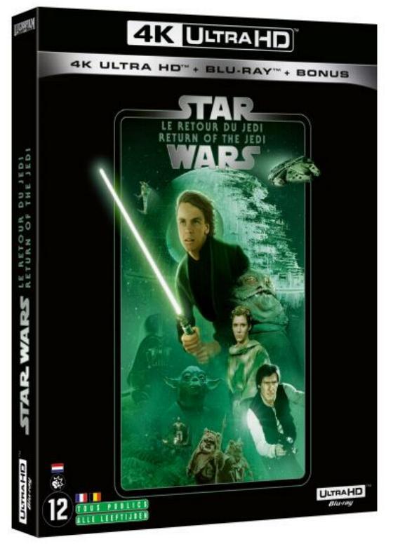 Coffret complet de la saga Star Wars en Blu-ray/4K UHD 6_4k10