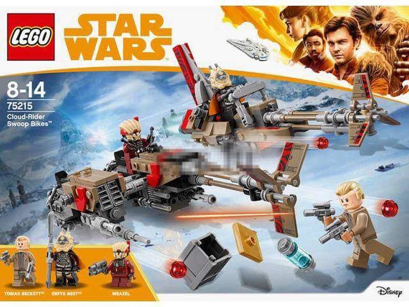 LEGO SOLO A STAR WARS STORY - 75215 - Cloud-Rider Swoop Bike 75215_11