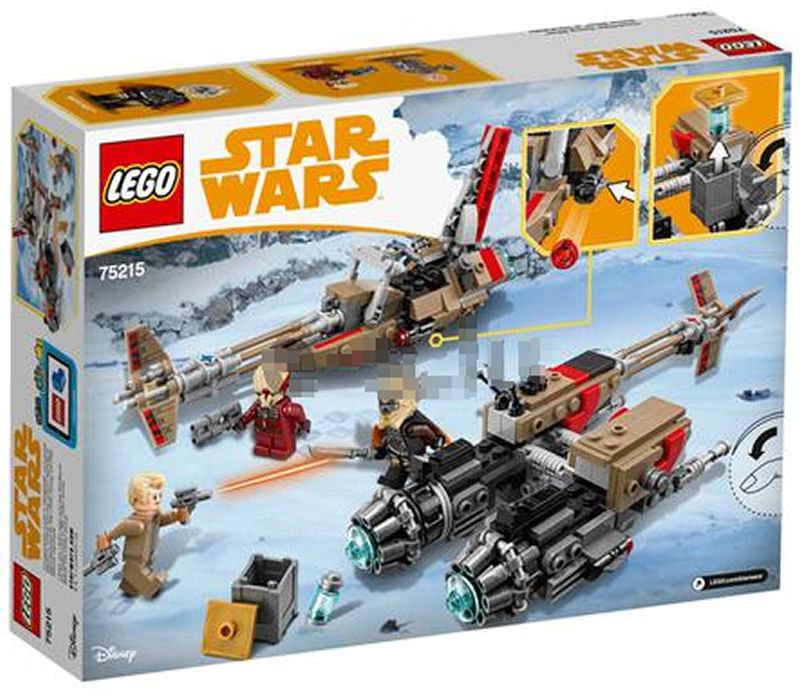 LEGO SOLO A STAR WARS STORY - 75215 - Cloud-Rider Swoop Bike 75215_12