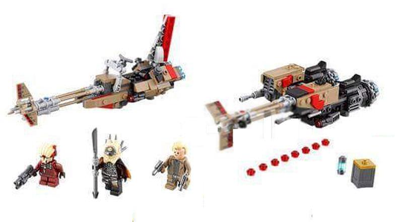 LEGO SOLO A STAR WARS STORY - 75215 - Cloud-Rider Swoop Bike 75215_13