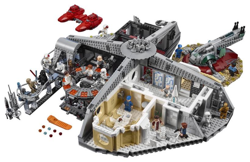 LEGO STAR WARS - 75222 - Betrayal at Cloud City  75222_12