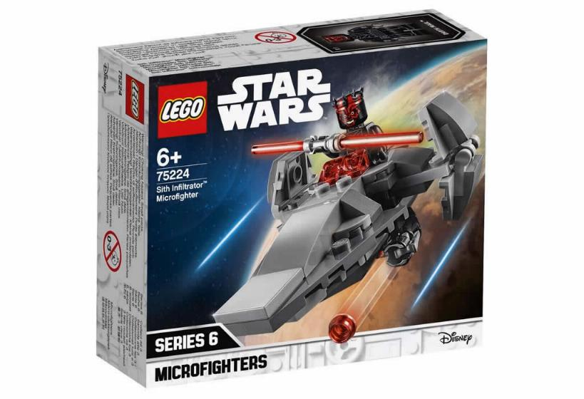 Lego Star Wars MICROFIGHTERS - 75224 - Sith Infiltrator 75224_10