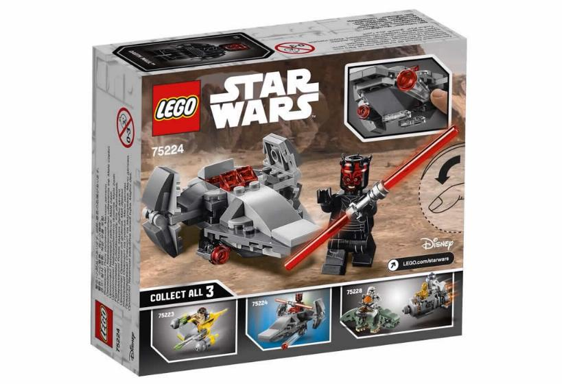 Lego Star Wars MICROFIGHTERS - 75224 - Sith Infiltrator 75224_11