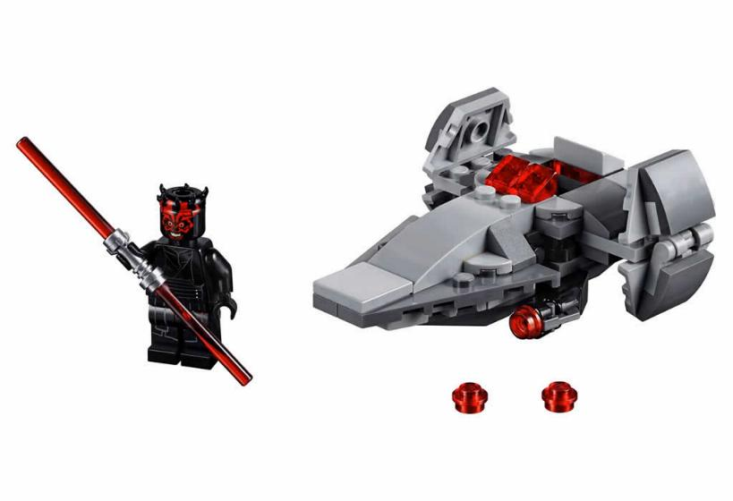 Lego Star Wars MICROFIGHTERS - 75224 - Sith Infiltrator 75224_12