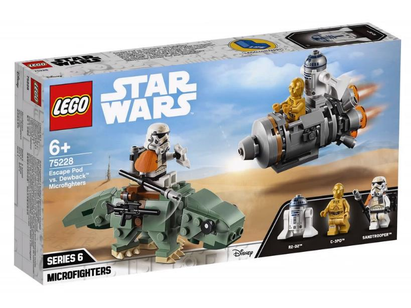 Lego Star Wars Microfighters 75228 - Escape Pod vs. Dewback 75228_10