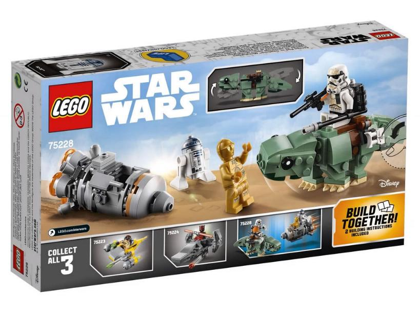 Lego Star Wars Microfighters 75228 - Escape Pod vs. Dewback 75228_11