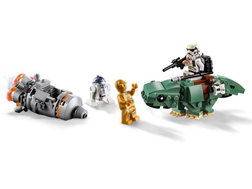 Lego Star Wars Microfighters 75228 - Escape Pod vs. Dewback 75228_12