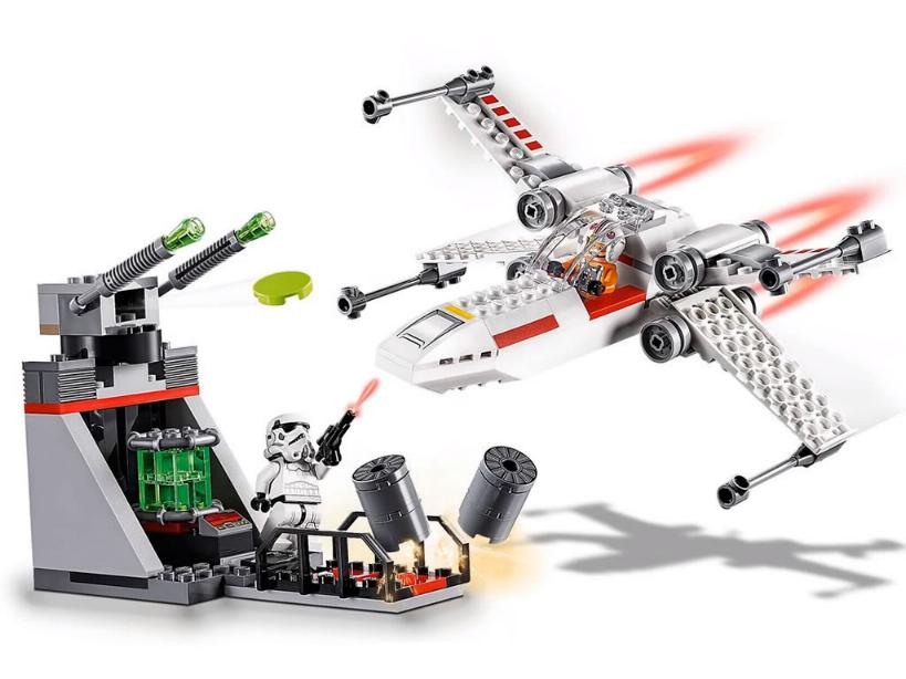 Lego Star Wars - 75235 - X-Wing Starfighter Trench Run  75235_13