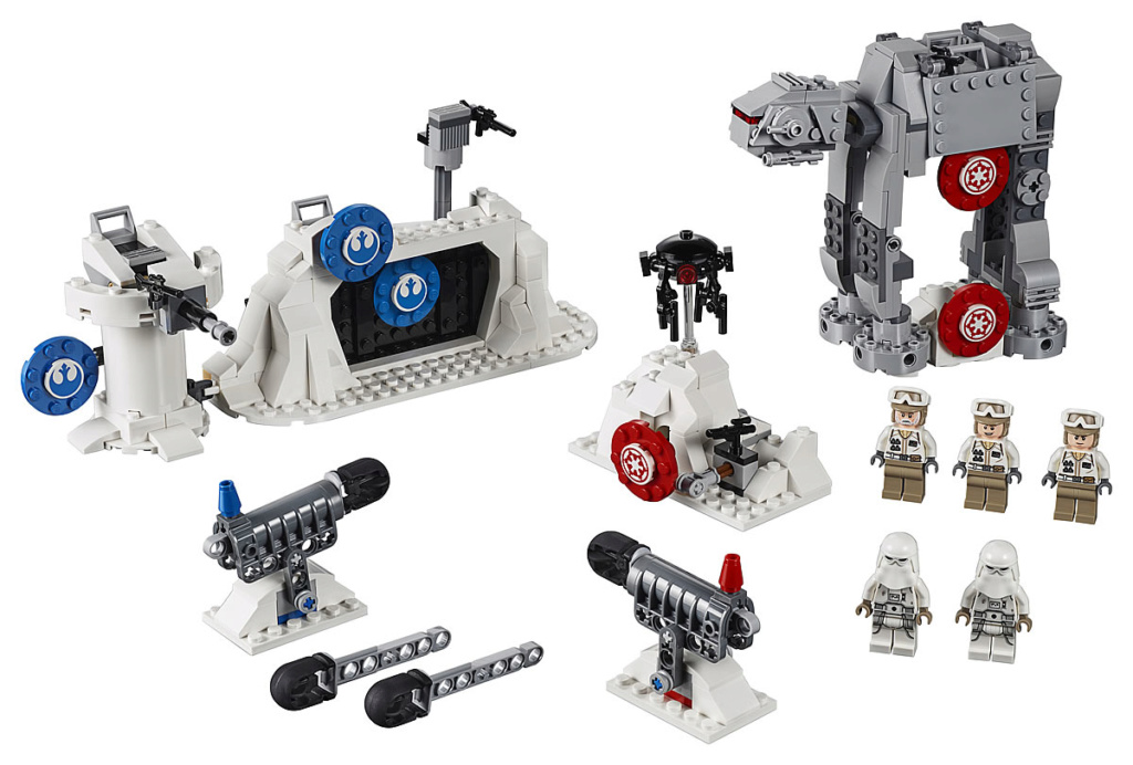 Lego Star Wars - 75241 - Action Battle Echo Base Defense 75241_10