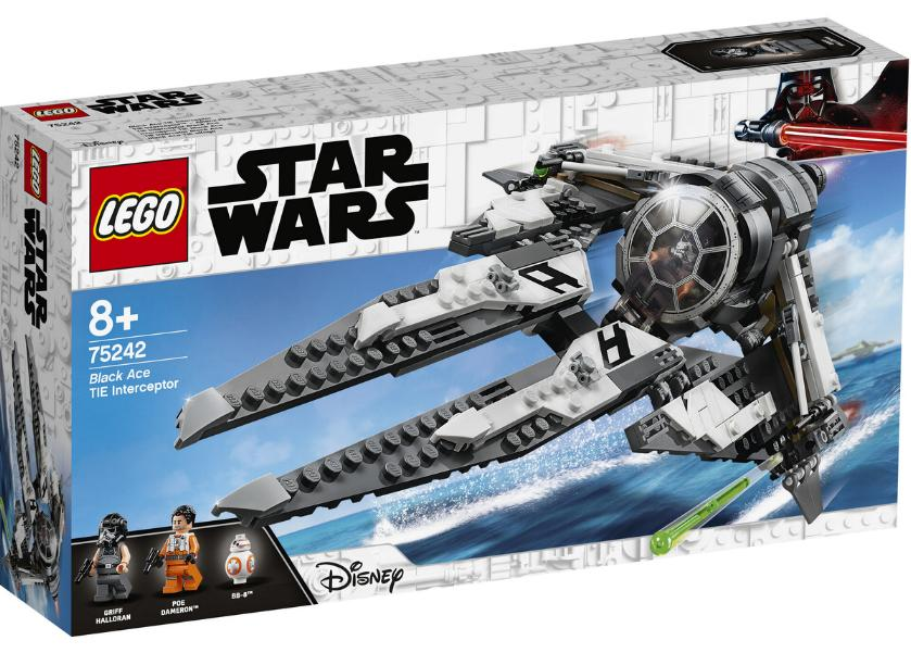 Lego Star Wars - 75242 - Black Ace TIE Interceptor 75242_13