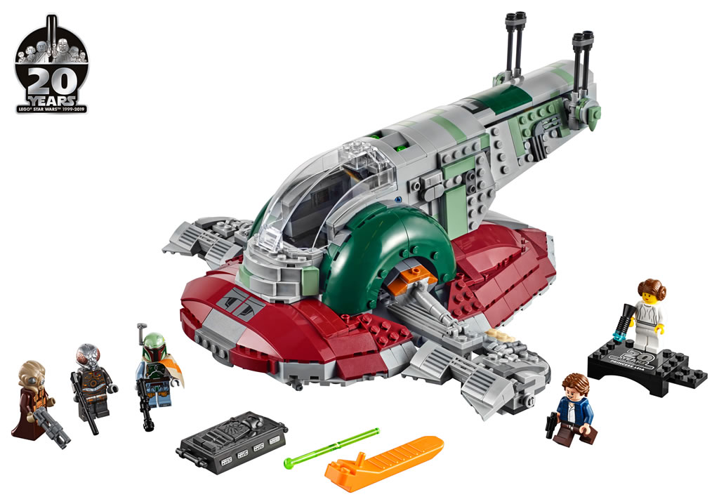 Lego Star Wars - 75243 – Slave I - 20th Anniversary 75243_10