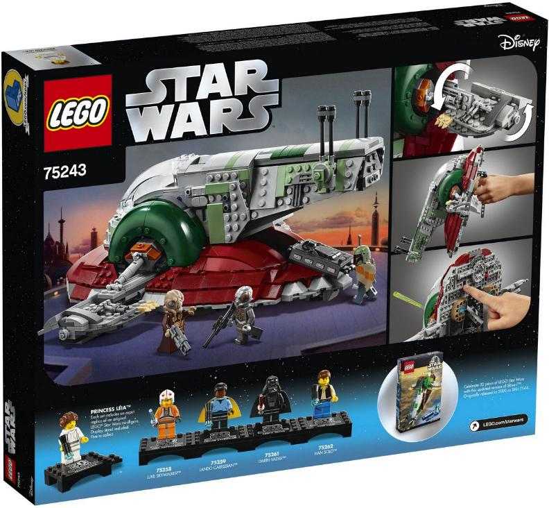 Lego Star Wars - 75243 – Slave I - 20th Anniversary 75243_12