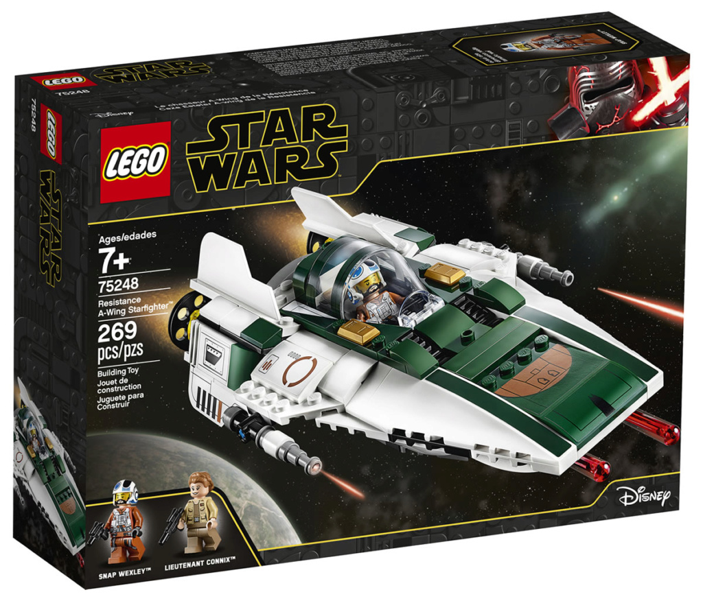 LEGO Star Wars - 75248 - Resistance A-Wing Starfighter 75248_10